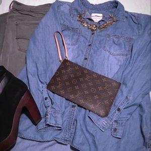 Blue Jean Long sleeve top